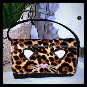 Kate spade leopard summer crossbody bag